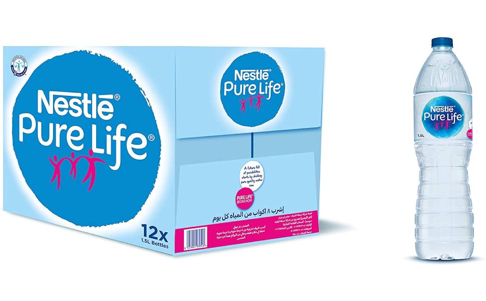 Nestle Carton Of 12 Water Bottles