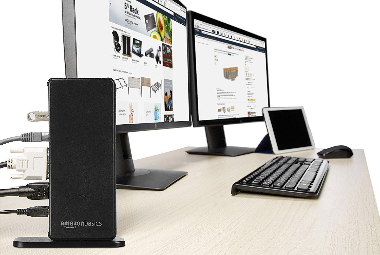 Amazon.com: AmazonBasics USB 3.0 Universal Laptop Dual