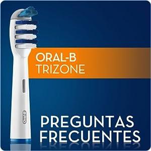 ¿Cuál es la diferencia entre el cabezal TriZone y otros cabezales de cepillos eléctricos Oral-B?