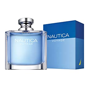 Amazon.com : Nautica Voyage Eau de Toilette Spray for Men, 3.4 oz ...