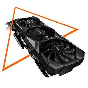 GIGABYTE GeForce RTX 2060 Gaming OC Pro 6G Graphics Card, 3X Windforce Fans, 6GB 192-bit GDDR6, GV-N2060GAMINGOC PRO-6GD Video Card