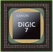 高画質がさらに進化。映像エンジンDIGIC 7搭載!