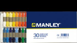 Manley 130 - Ceras, 30 unidades: Amazon.es: Oficina y papelería