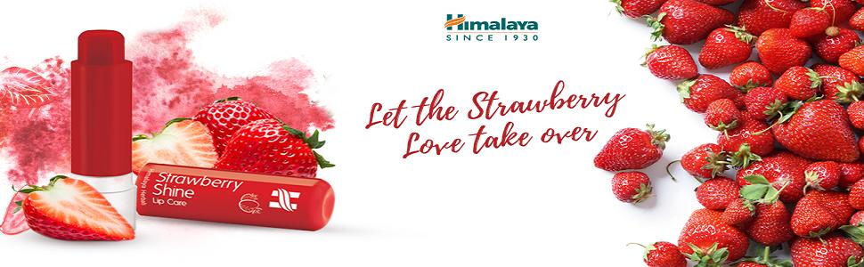 Himalaya Herbals Strawberry Shine Lip Care