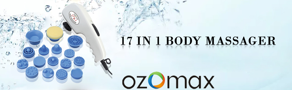 Ozomax Professional 17 in 1 Body Massager