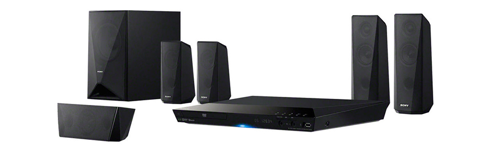 Sony 5.1ch DVD Home Theatre System - DAV-DZ350