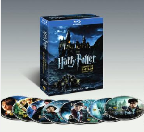 harry potter film boks