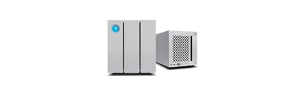 LaCie 2big - Disco de sobremesa Raid para Mac y PC 12 TB (2 x 6 TB ...
