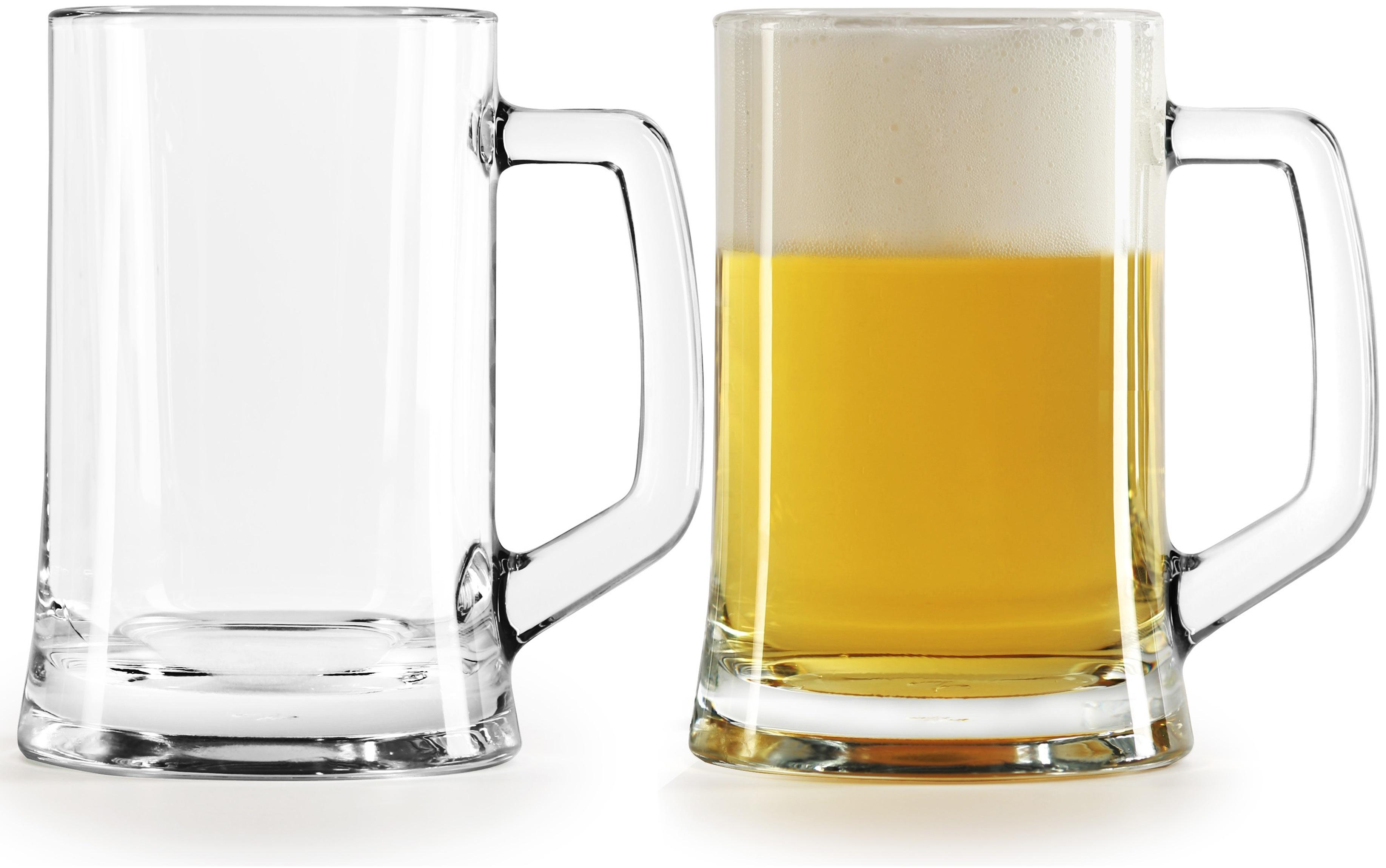 Amazon Com Circleware Tavern Glass Beer Mugs Huge 22