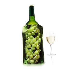 Compra Vacu Vin Enfriador Activo de Vino, Color Negro, 1 Pack en ...