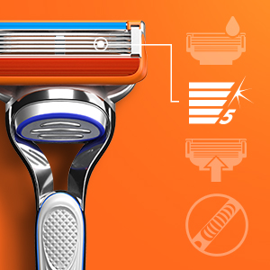 Gillette Fusion men's razor blade refills