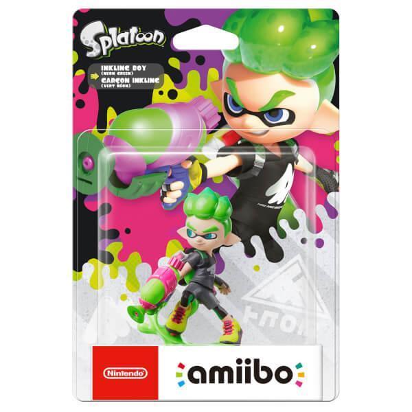 Amazon.com: Nintendo amiibo - New Inkling Boy (Neon Green