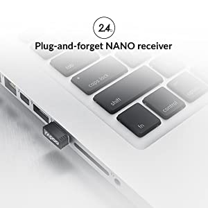 Plug-and-Forget Nano receiver