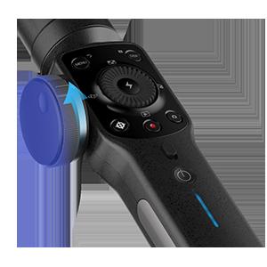 Zhiyun Smooth 4 Mobile Gimbal Stabilizer For Smartphones- Black