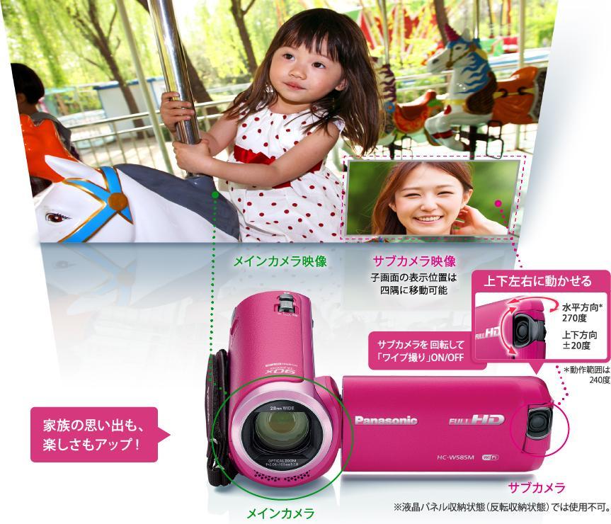 W M | デジタルビデオカメラ | Panasonic