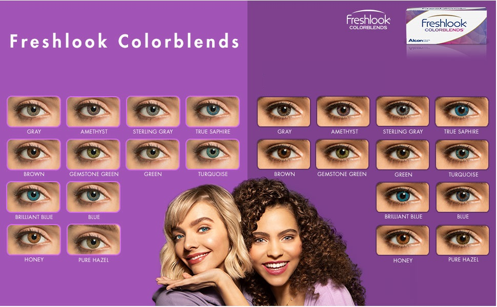 Freshlook Monthly - 2 Lens Pack