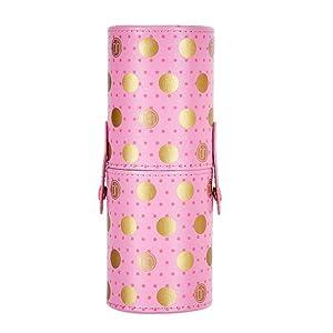 BH Cosmetics Pink a Dot Brush 11 Piece Set