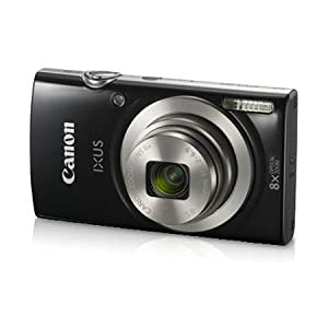 Canon IXUS 185-20 MP, Point & Shoot Camera, Black