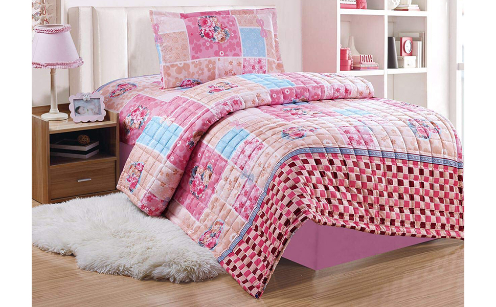Kids Compressed Comforter 3Piece Set