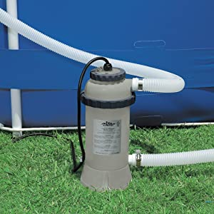 Calentador eléctrico Intex, compatible con piscinas Easy Set o Metal Frame hasta 457 cm de diámetro ...