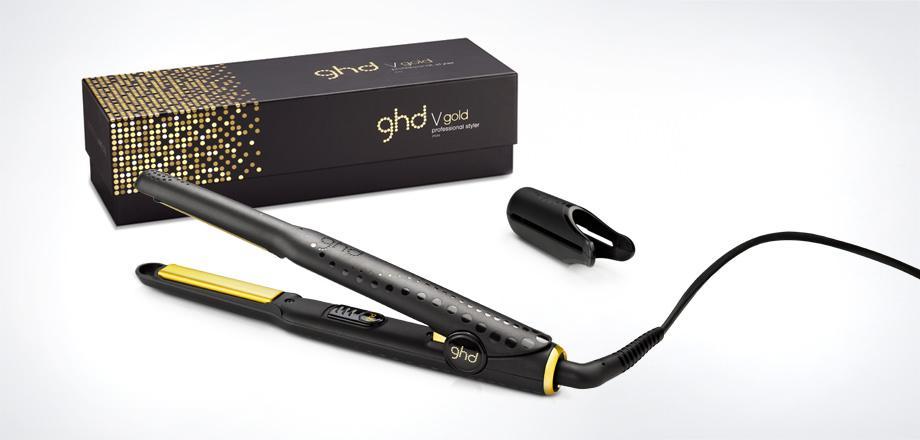 ghd v gold professional classic styler plancha para el pelo color negro salud y. Black Bedroom Furniture Sets. Home Design Ideas
