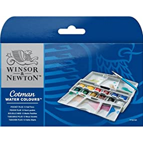 Cotman Water Colour Field Plus Paint Set