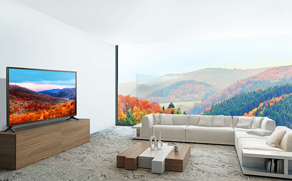 LG 49 Inch Smart LED Full HD TV With Built-In Receiver- 49Lk5730