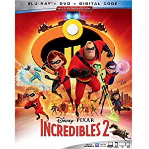 Amazon com: INCREDIBLES 2 [Blu-ray]: Craig T  Nelson, Holly