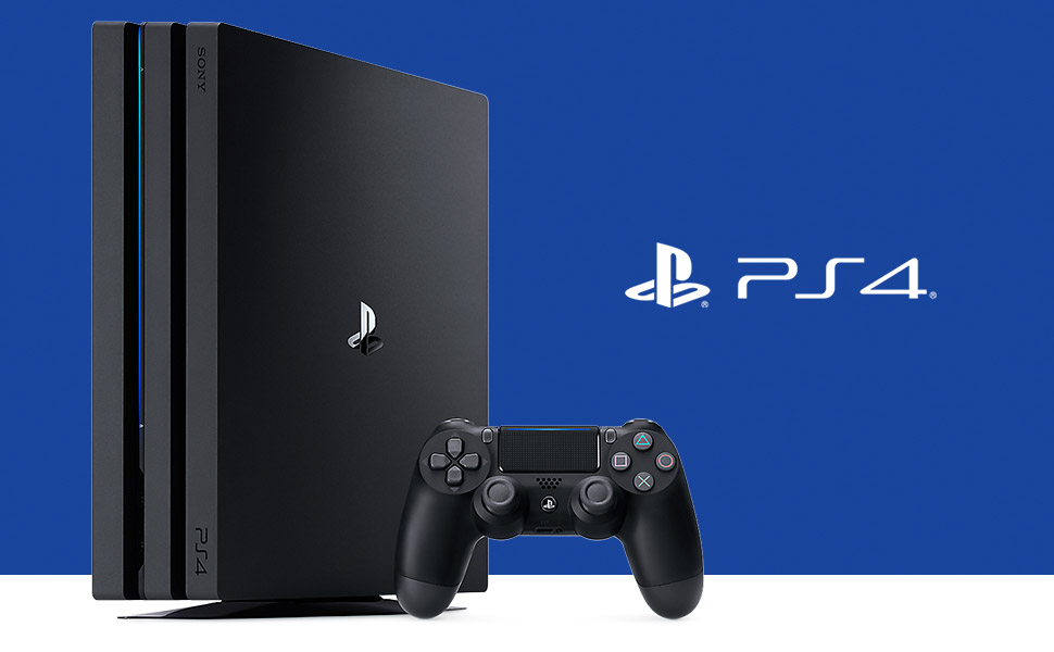 Sony PlayStation 4 Pro 1TB Console (Black)
