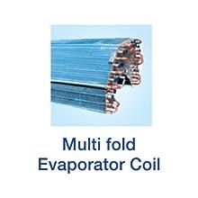 •Multi Fold Evaporator Coil