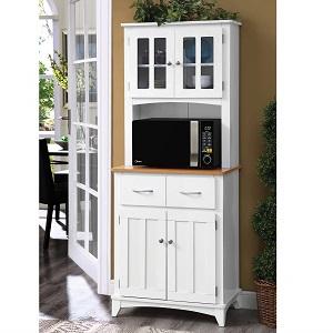 Amazon.com - Home Source Industries Brook Tall Microwave ...