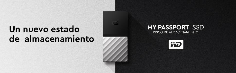 WD My Passport - Unidad de Estado sólido portátil SSD de 512 GB ...