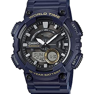 164aee12524 Buy Casio Youth-Combination Analog-Digital Black Dial Men s Watch ...