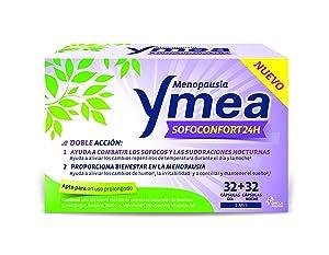 Ymea menopausia sofoconfort 24 horas, 64 cápsulas