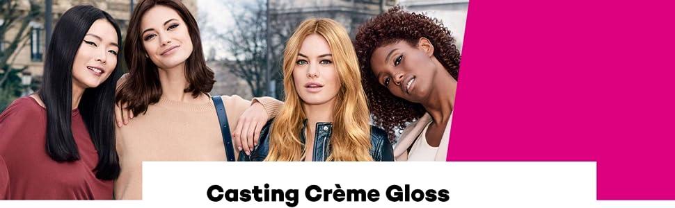 LOreal Paris Casting Crème Gloss Coloración sin Amoniaco 535 Chocolate - 600 gr