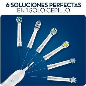 El diseño del cabezal del cepillo de dientes Oral-B Precision Clean se inspira en la potencia de limpieza superior de las herramientas profesionales.