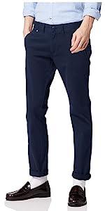 Tommy Jeans Homme Original Slim Fit Chino Pantalon