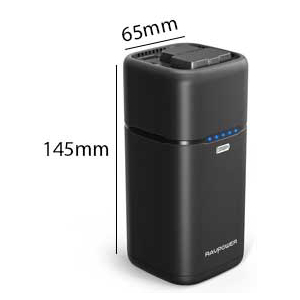 RAVPower 20100mAh Built-in AC Outlet Universal Power Bank Travel Charger