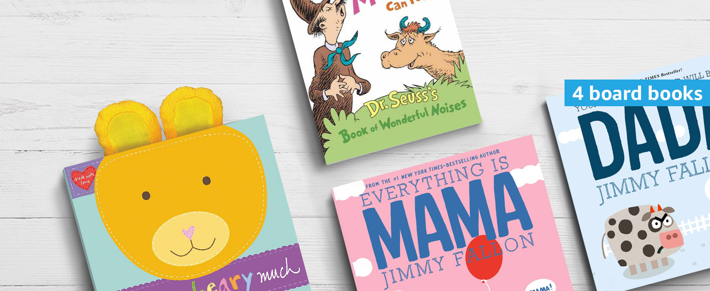 Amazon Book Box for Baby to 2 years old for 4 board books