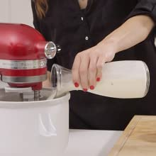 Ice Cream Maker Accessory for Stand Mixer by KitchenAid