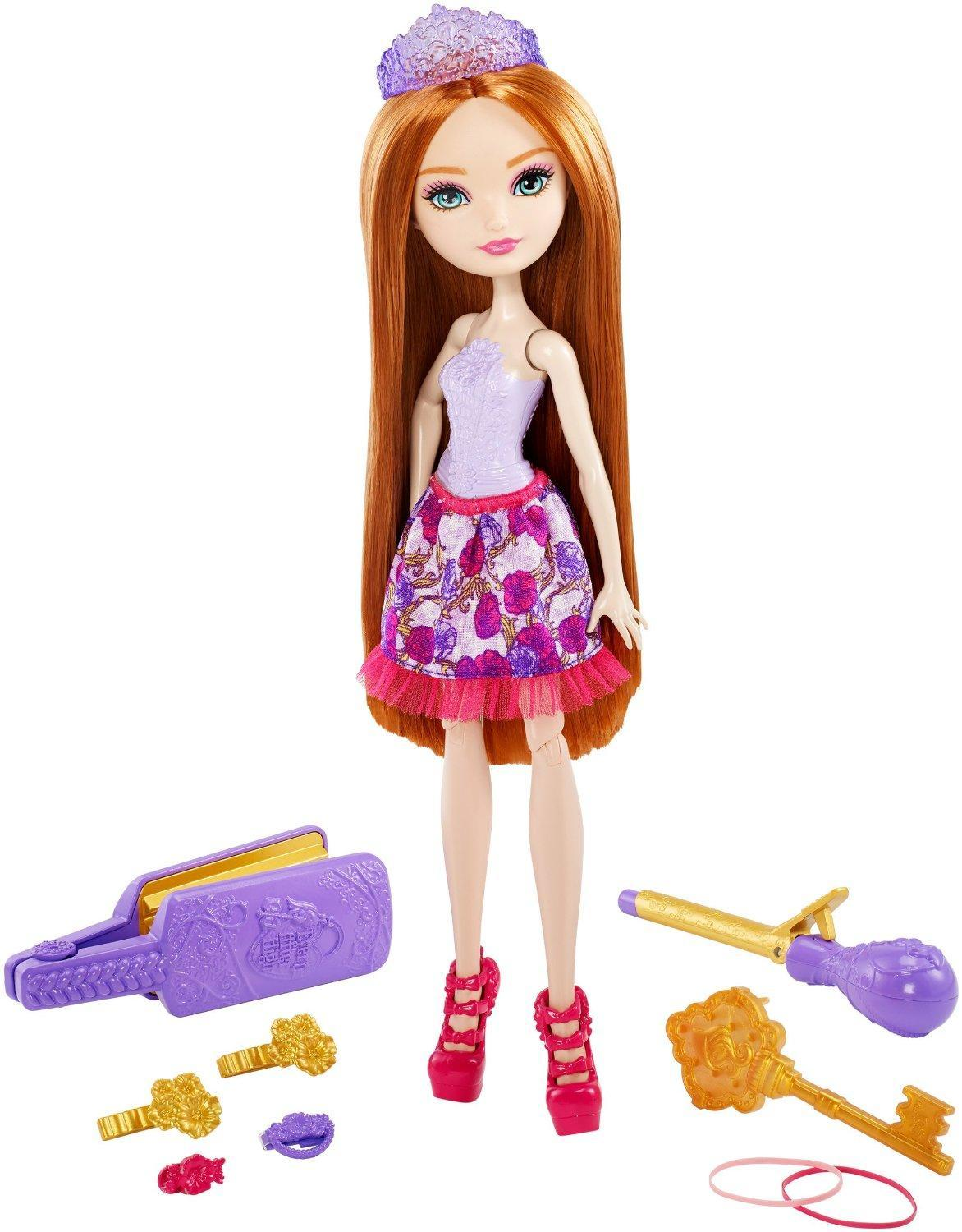 Ever After High Toy Playset - Hairstyling Holly Deluxe