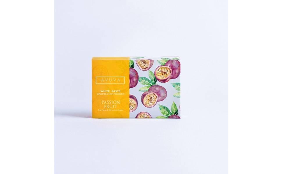 avuva white paste hair removal - 100 gm- passion fruit
