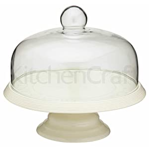 Kitchencraft Classic Collection 29 Cm Ceramic Cake Stand