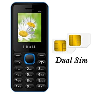 Ikall k66 18 inch dual sim mobile blue amazon electronics dual sim mobile fandeluxe Image collections