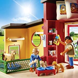 Playmobil, City Life, Pets, Animals, Tiny Paws Pet Hotel, Dogs, Care, Fun, Playtime