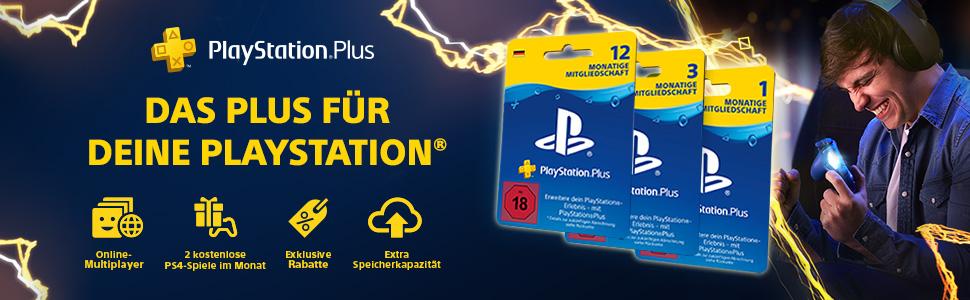 Playstation Plus Karte 12 Monate.Playstation Plus Mitgliedschaft 12 Monate Deutsches Konto Ps4