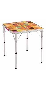 コールマン(Coleman) テーブル ナチュラルモザイクリビングテーブル 60プラス 2000026754