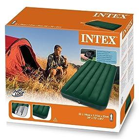 Intex 66967 - Colchón hinchable Prestige con hinchador 99 x ...