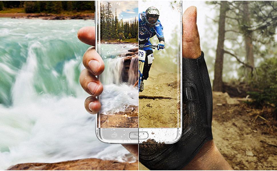 Samsung Galaxy S7 Edge - 32GB, 4GB RAM, 4G LTE, Silver