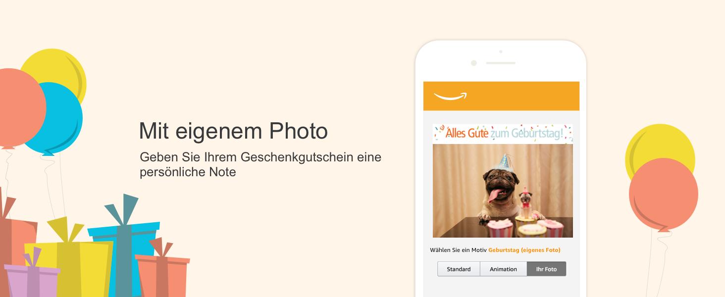 Amazon.de Gutschein per E-Mail (Verschiedene Motive): Amazon.de ...